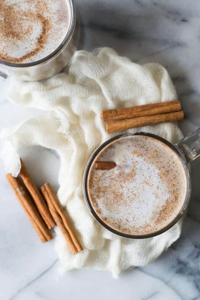 Making A Snickerdoodle Latte