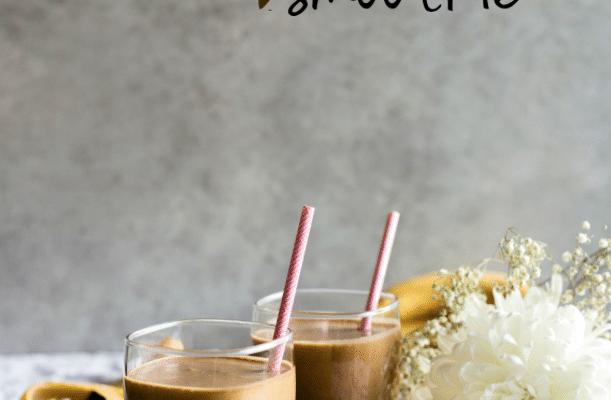 Peanut Butter Espresso Smoothie