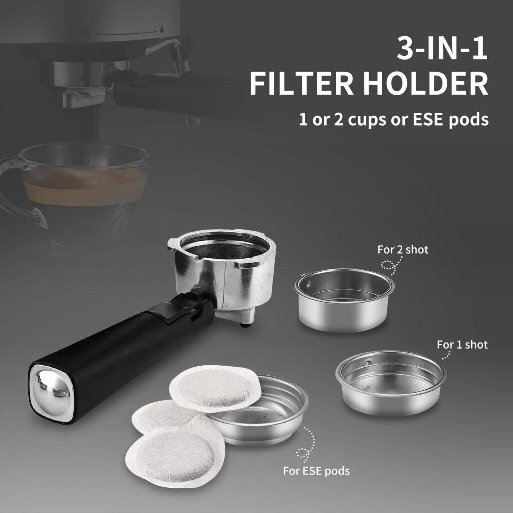 Gevi Espresso Machine Filter Holder
